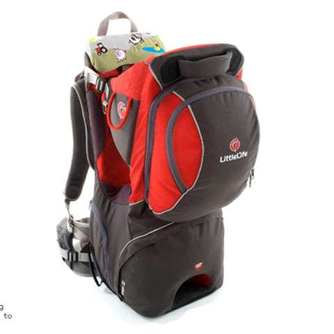 photo: LittleLife Voyager S2 child carrier