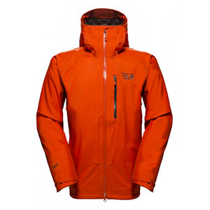 photo: Mountain Hardwear Men's Alchemy Hooded Jacket soft shell jacket