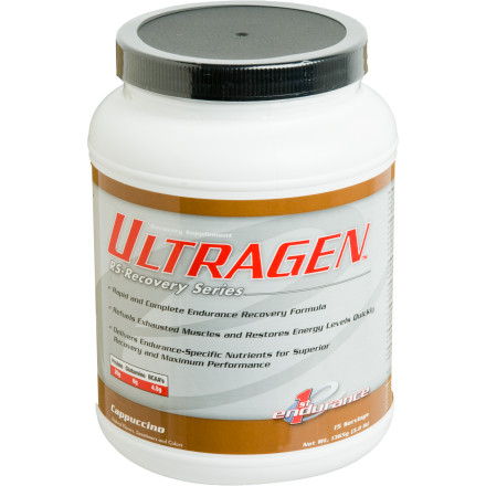 photo: First Endurance EFS Ultragen Recovery Series drink