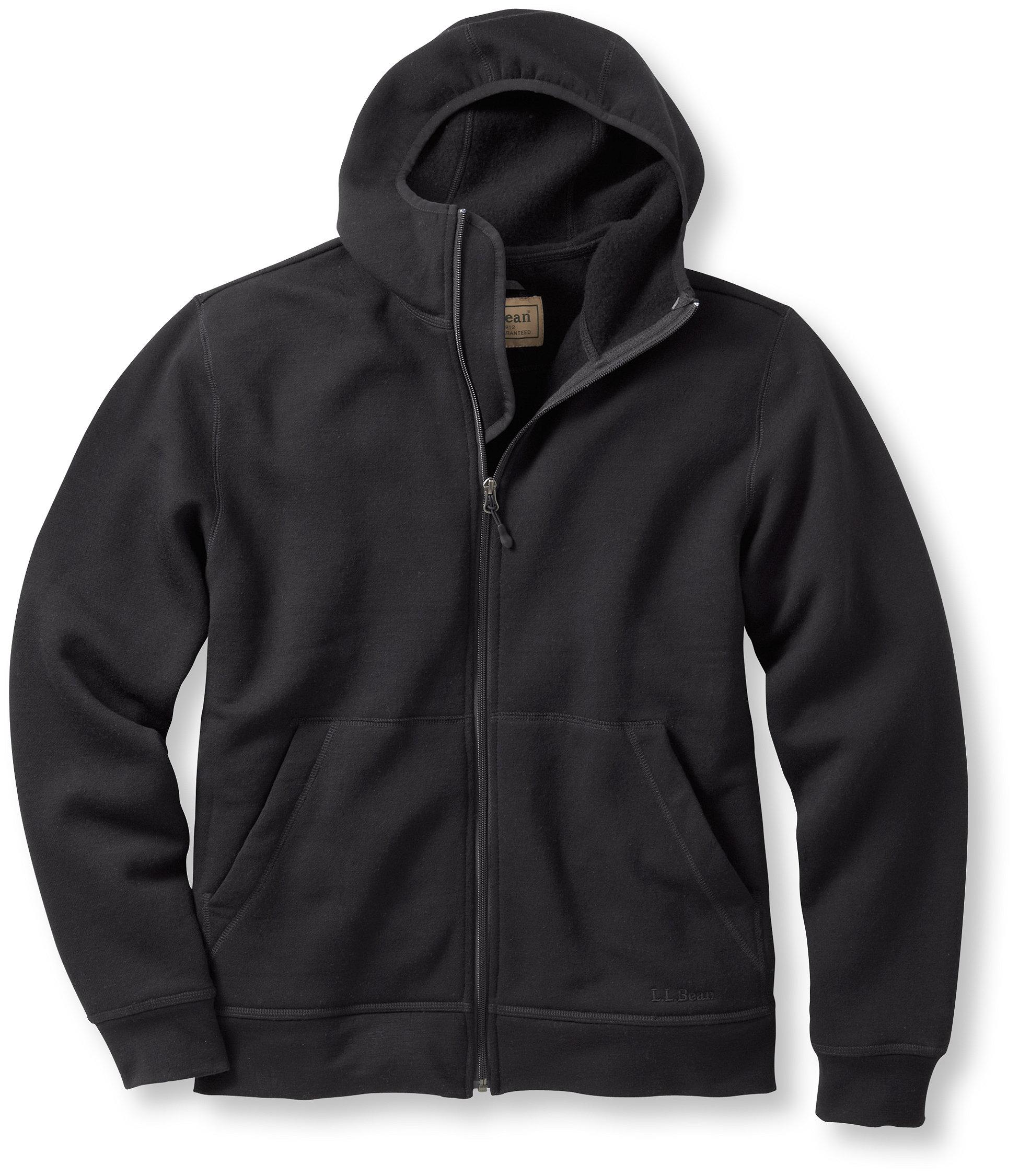 photo: L.L.Bean Merino Wool Hooded Sweatshirt wool jacket