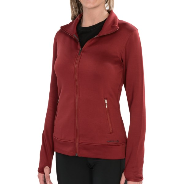 photo: Merrell Mea Silken Fleece Full Zip fleece jacket
