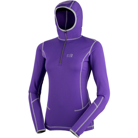 photo: Millet Tech Stretch Hoodie fleece top