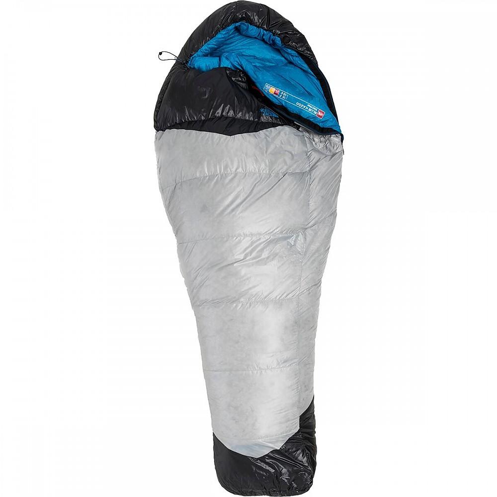 photo: The North Face Blue Kazoo 3-season down sleeping bag