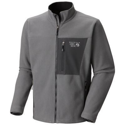 photo: Mountain Hardwear Men's Mountain Monkey Tech Jacket fleece jacket