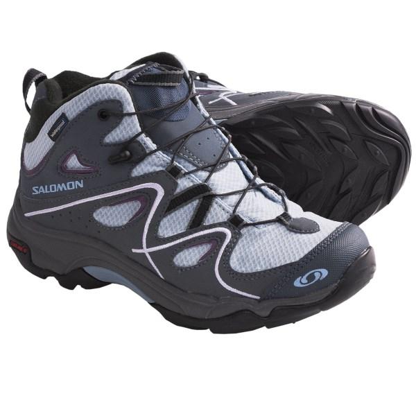 photo: Salomon Trax Mid Waterproof Hiking Shoes hiking boot