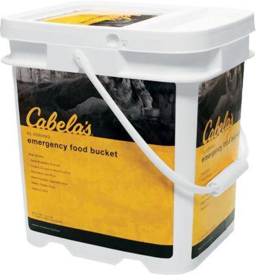 Cabela's Emergency Food Bucket