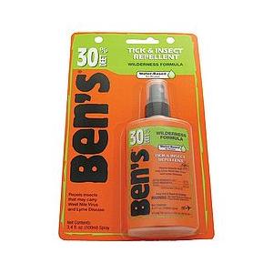 Tender Ben's 30 Deet Tick & Insect Repellent