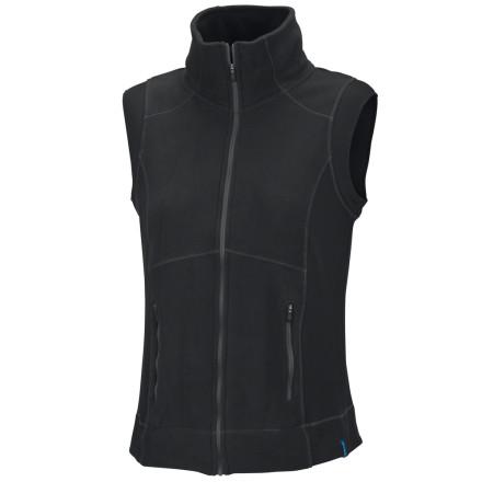 photo: Columbia Just Right Vest fleece vest