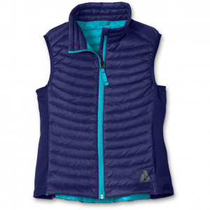 photo: Eddie Bauer Girls' First Ascent MicroTherm Down Vest down insulated vest