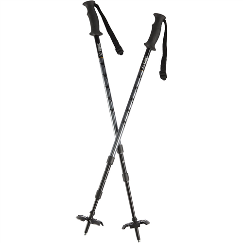 photo: Tubbs 3-Part Snowshoe Poles rigid trekking pole