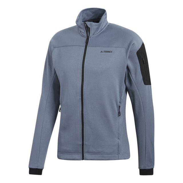 photo: Adidas Terrex Stockhorn Fleece Jacket fleece jacket