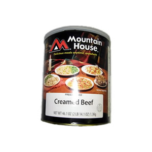 Mountain House Creamed Beef