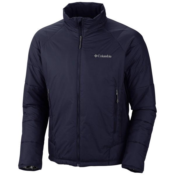 photo: Columbia Premier Packer Hoodie synthetic insulated jacket
