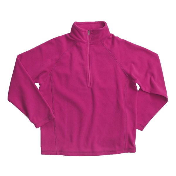 photo: White Sierra Boys' Pinnacle Quarter Zip fleece top