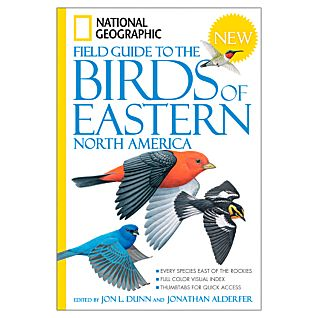photo: National Geographic Field Guide to the Birds of Eastern North America plant/animal identification guide