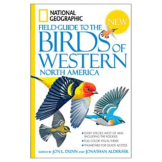 photo: National Geographic Field Guide to the Birds of Western North America plant/animal identification guide