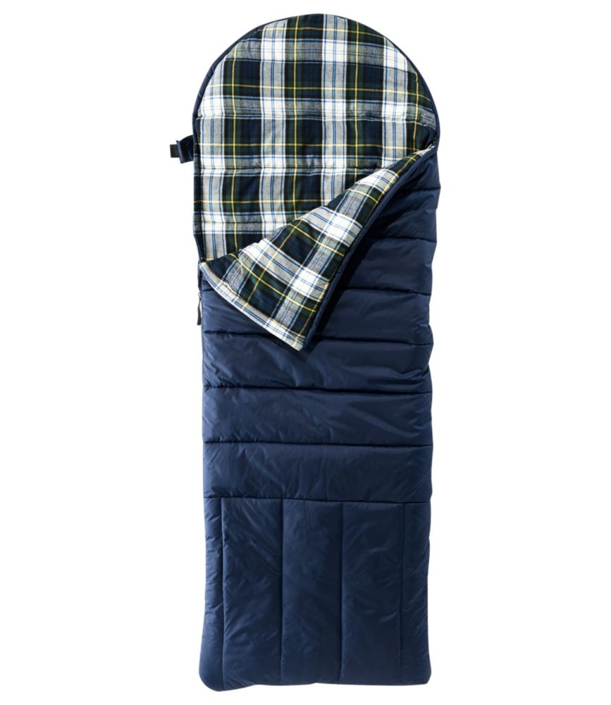 L.L.Bean Deluxe Flannel-Lined Camp Bag 30