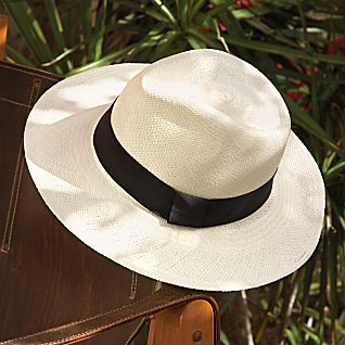 photo: National Geographic Handwoven Straw Hat sun hat