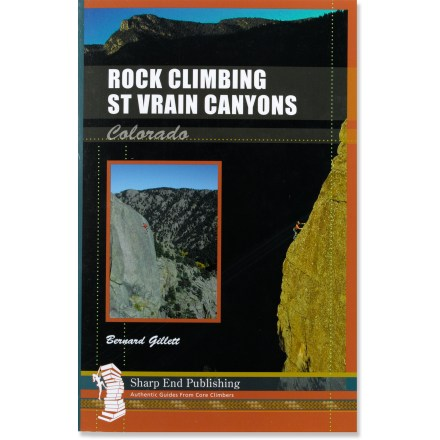 Sharp End Publishing Rock Climbing St Vrain Canyons