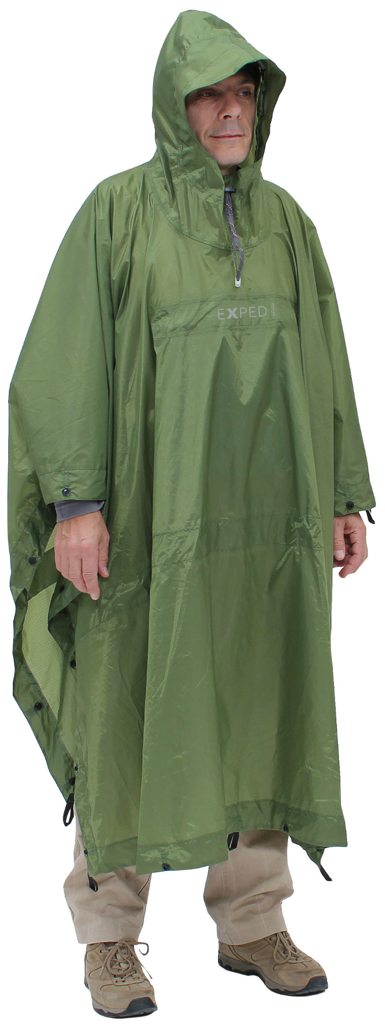 photo: Exped Bivy-Poncho waterproof jacket