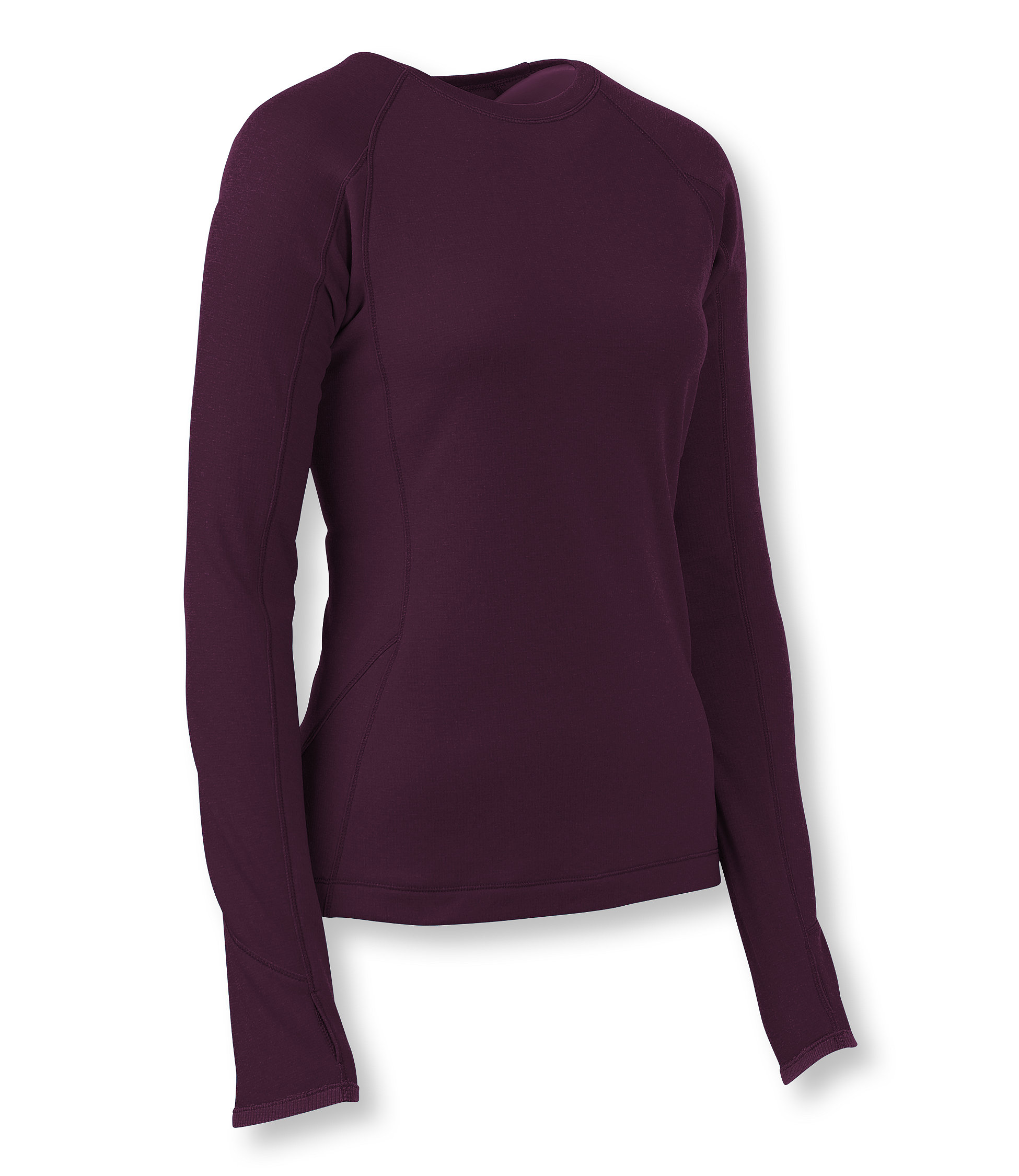 L.L.Bean Power Dry Stretch Base Layer, Expedition Weight Long-Sleeve Crew