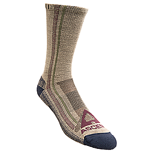 photo: Ascend Hiker Crew hiking/backpacking sock