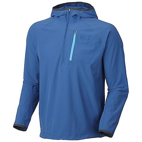 photo: Mountain Hardwear Chocklite Anorak soft shell jacket