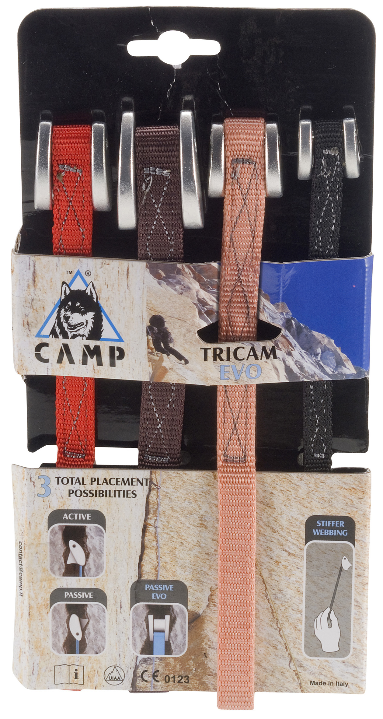 photo: CAMP Tricam Evo camming device