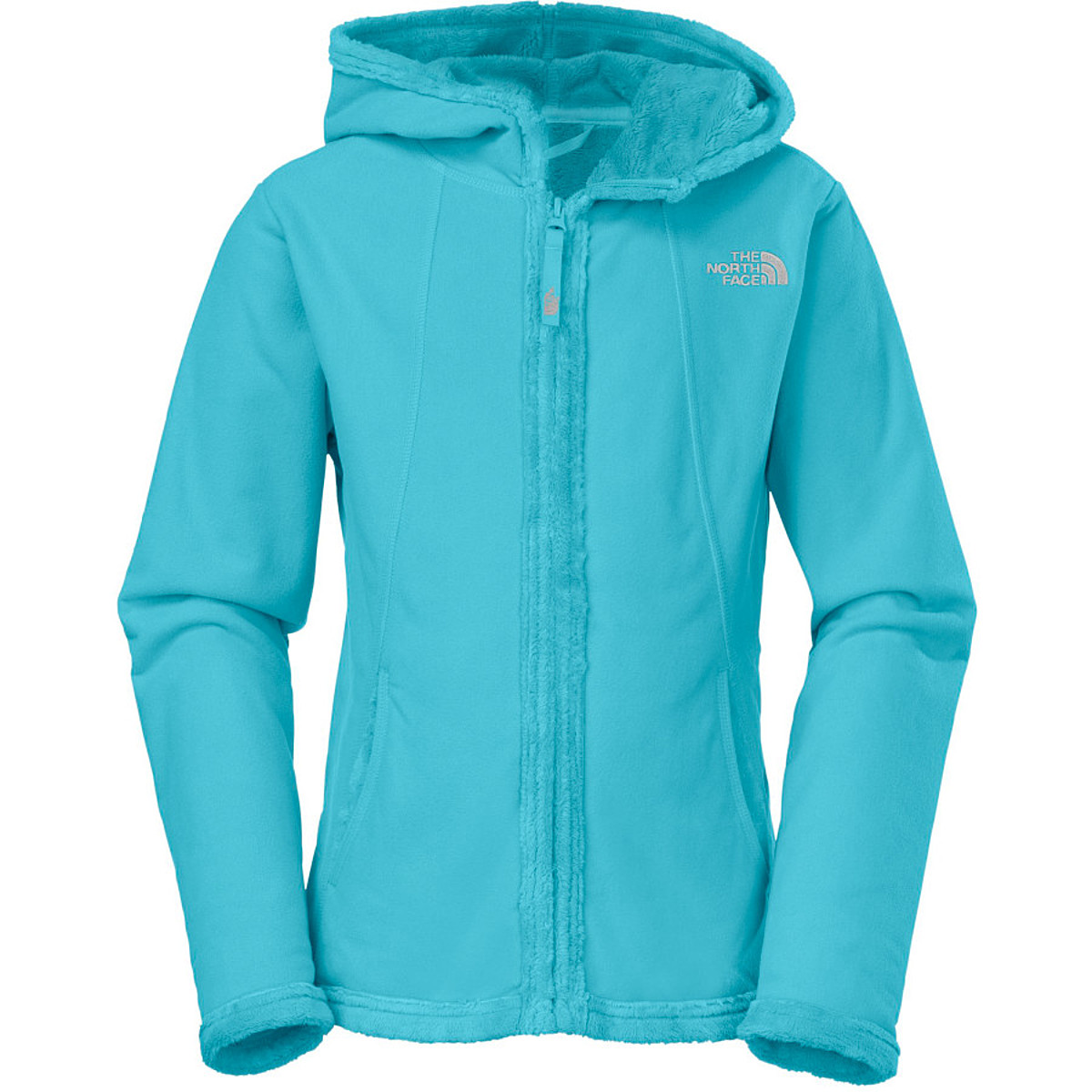 photo: The North Face Girls' Morningside Hoodie fleece jacket