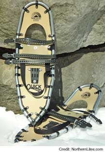 photo of a Northern Lites hiking snowshoe