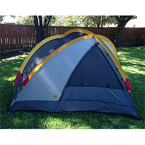 photo: Kelty Domolite 4 three-season tent