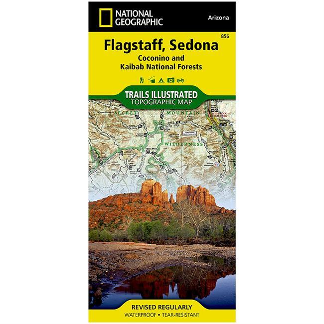National Geographic Flagstaff/Sedona Map