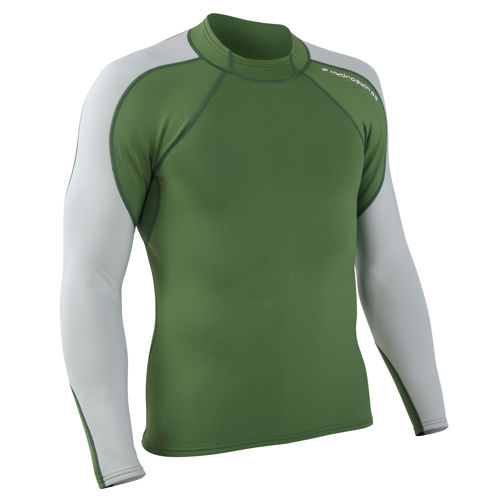 photo: NRS Men's HydroSkin Shirt - L/S long sleeve rashguard