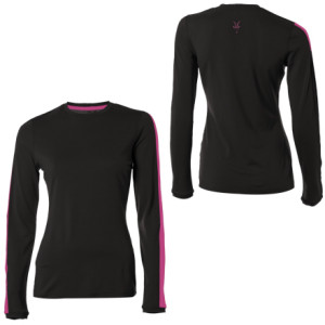 photo: Ibex Women's Indie Crew long sleeve performance top