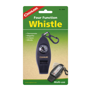 Coghlan's Four Function Whistle