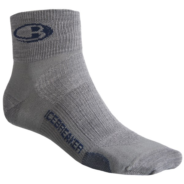 photo: Icebreaker Run Ultralite Mini running sock