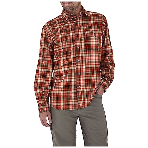 photo: Royal Robbins Lewiston Long Sleeve hiking shirt