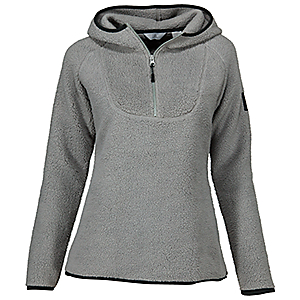 Ascend Cozy Fleece Hooded Pullover