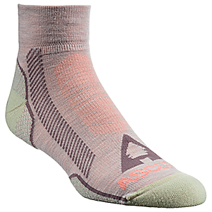 photo: Ascend Hiker 2.0 Quarter hiking/backpacking sock