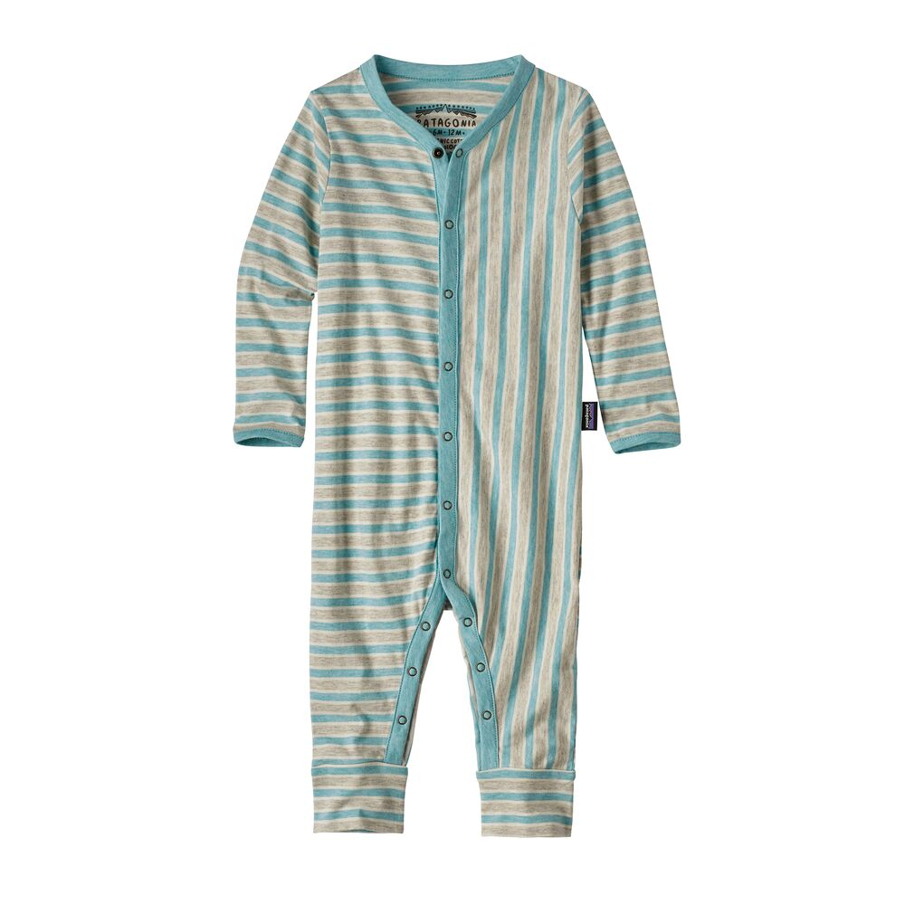 photo: Patagonia Infant Cotton Squeaky One-Piece one-piece base layer