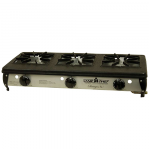 Camp Chef Ranger III Three-Burner Stove