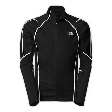 photo: The North Face Men's Apex ClimateBlock Full Zip wind shirt