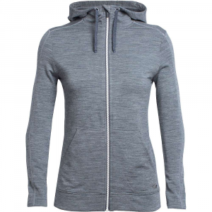 Icebreaker Dia Long Sleeve Zip Hood