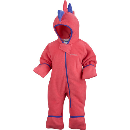 photo: Columbia Kids' Little D Fleece Bunting kids' snowsuit/bunting