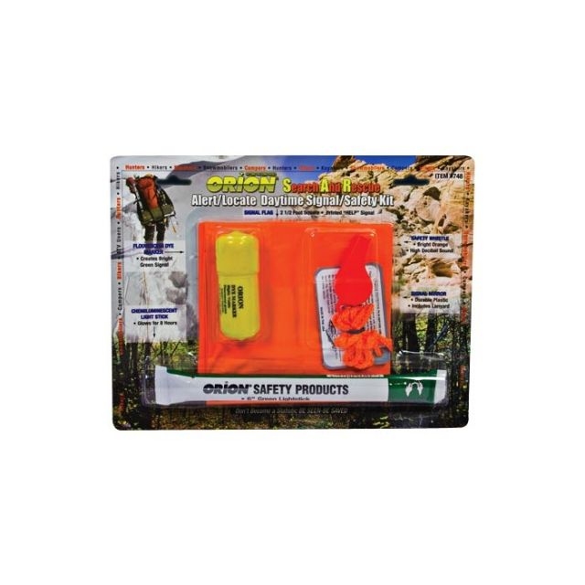 photo: Orion Fire Free Alert/Locate Kit signal mirror/flag