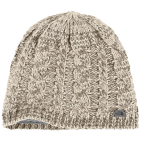 photo: The North Face Fuzzy Cable Beanie winter hat