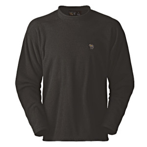 photo: Mountain Hardwear Nailhead Pullover fleece top