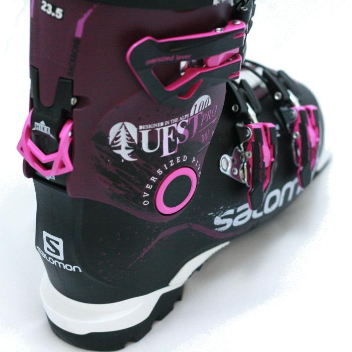 photo: Salomon Quest Pro 100 alpine touring boot