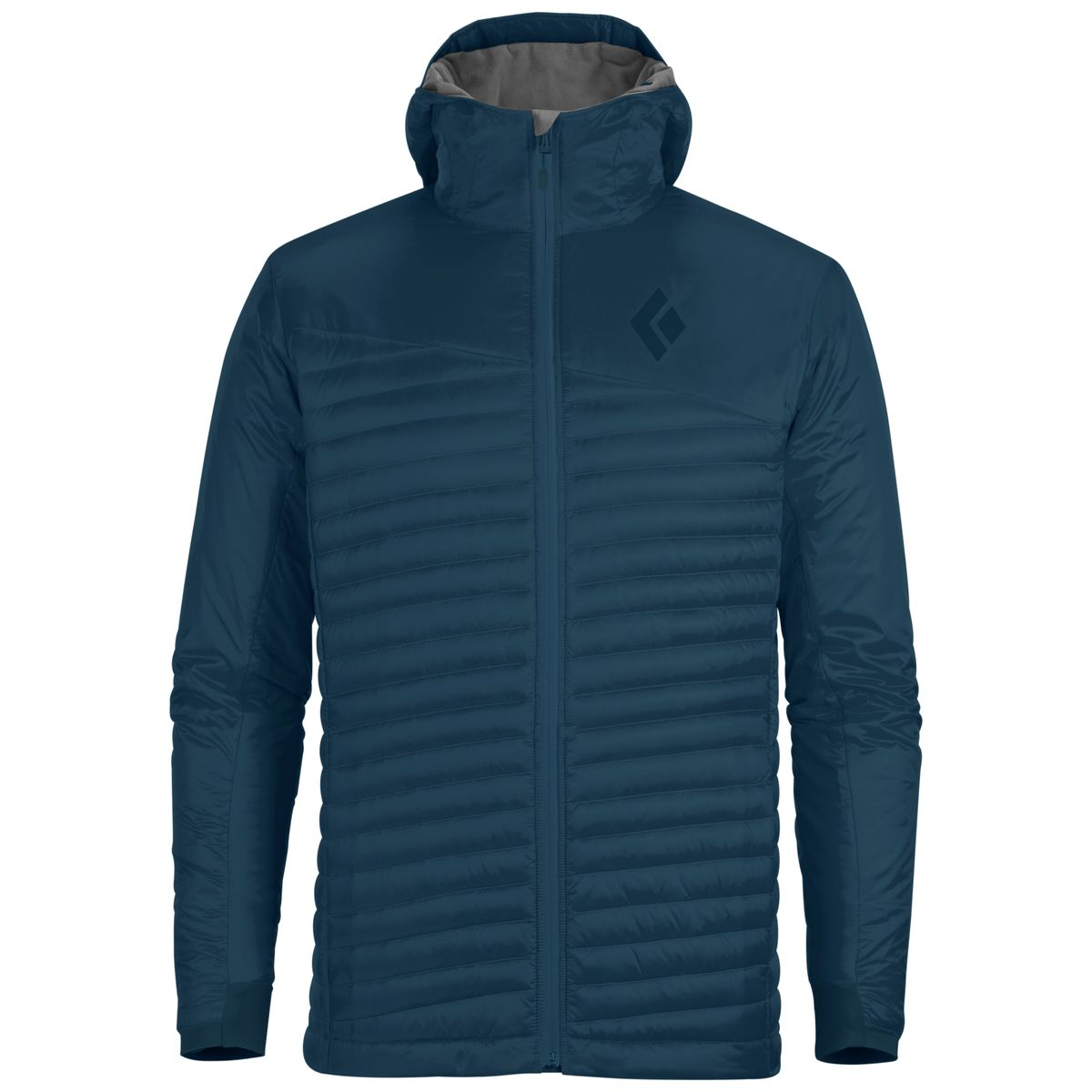 photo: Black Diamond Men's Hot Forge Hybrid Hoody down insulated jacket