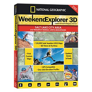 National Geographic Weekend Explorer 3D - Salt Lake City Area CD-ROM